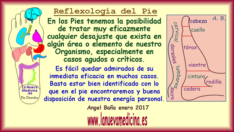 Reflexologia dolor en el talon izquierdo